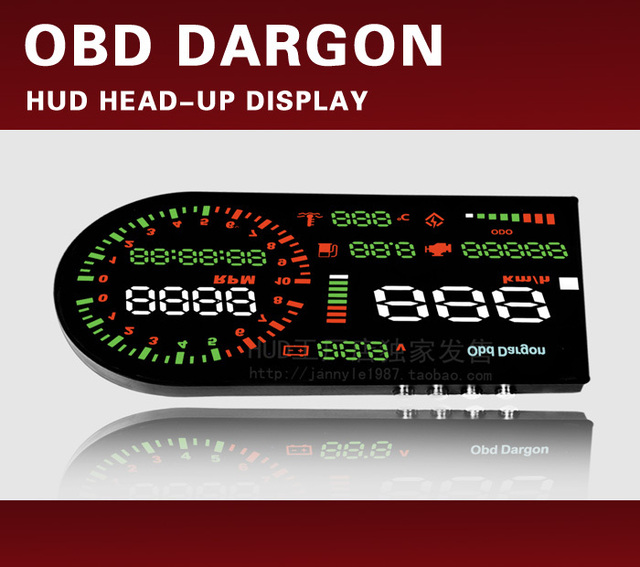 2013 HUD obd dargon C1 hud Head-up display