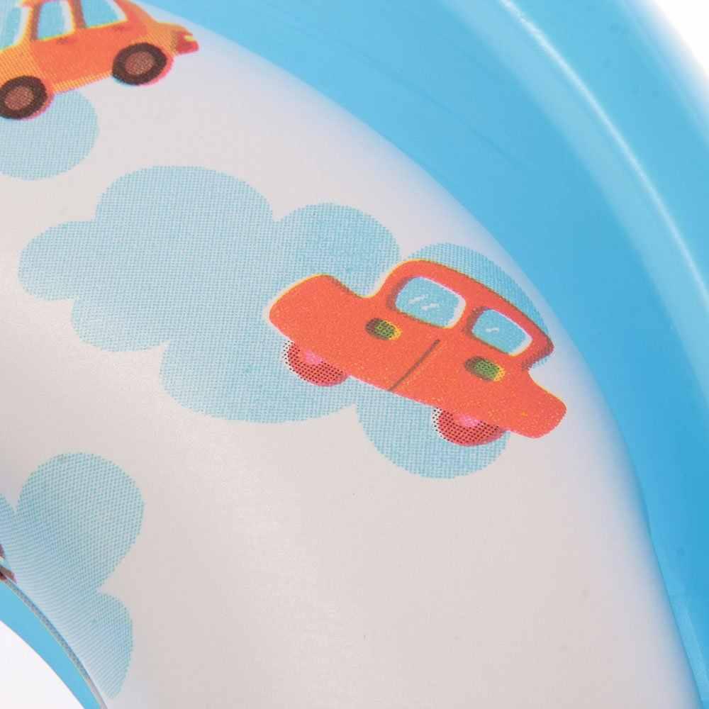 Bleu Siege หม้อ Reducteur De Toilette Lunette WC ที่มี Poignee Pour Bebe Enfant