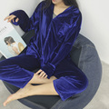 yomrzl A349 new arrival spring and autumn daily women's pajama set Luxurious sleep set long sleeve sleepwear