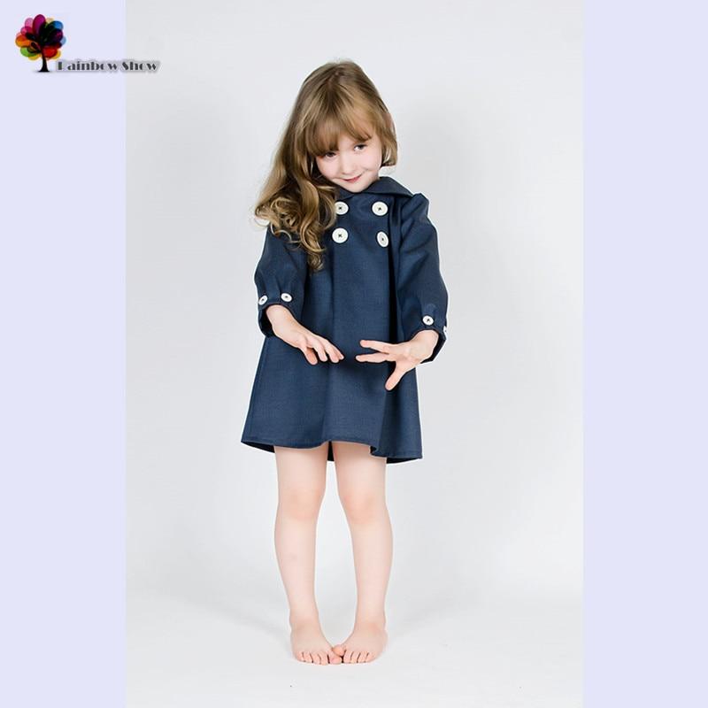 Yeni Uşaq Geyim Qızları Payız Bahar Moda Sevimli Uzun qollu - Uşaq geyimləri - Fotoqrafiya 1