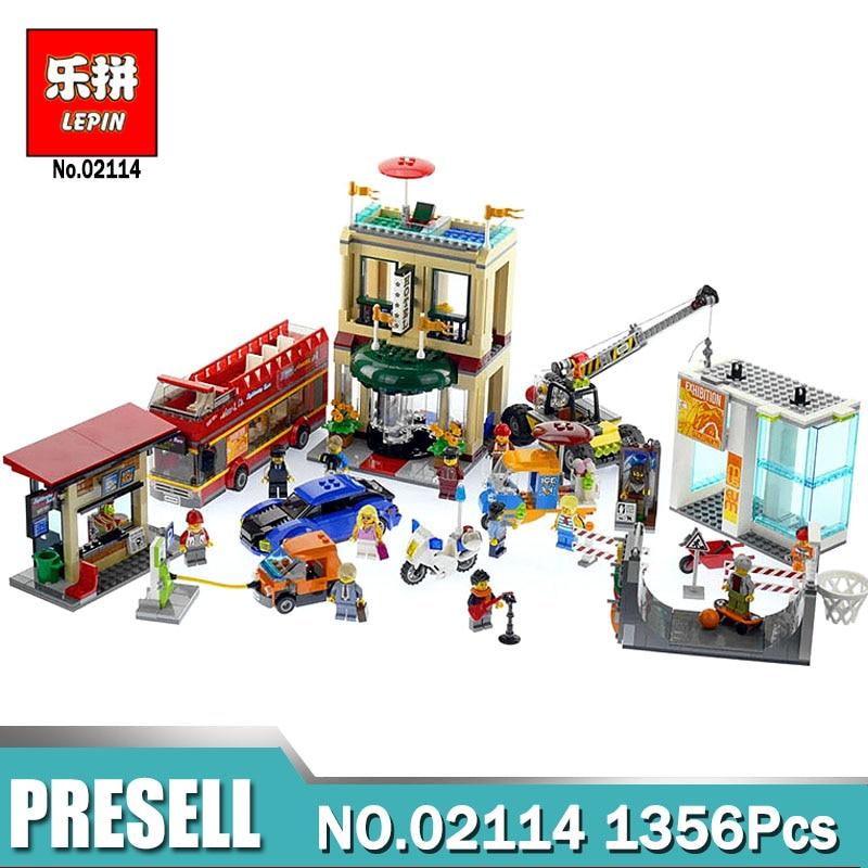 Lepin City 02114  Capital City Building Blocks Bricks  Toys compatible Legoingly 60200  City Series Bricks Kids Funny DIY Gifts