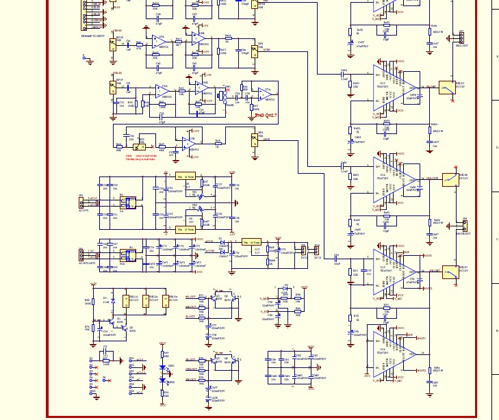 5 1 amplifier pcb layouts | circuit diagram images 8 1 multiplexer circuit diagram 5 1 subwoofer circuit diagrams