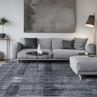 Modern Carpets For Living Room Nordic Atyle Abstract Bedroom Rugs Thick Polypropylene Study Room Carpet Large Size Floor Rug