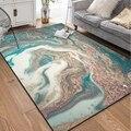 Современные креативные ковры с абстрактным искусством  коврики для гостиной  спальни  домашнего декора  журнальный столик  Нескользящие Ко...
