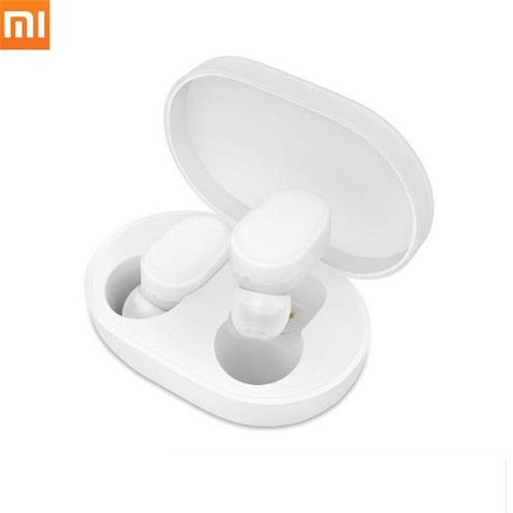 D'origine Xiaomi AirDots casque audio sans fil écouteurs Bluetooth TWS Bluetooth 5.0 Jeunes Version Tactile Contrôle avec BOÎTE De Charge