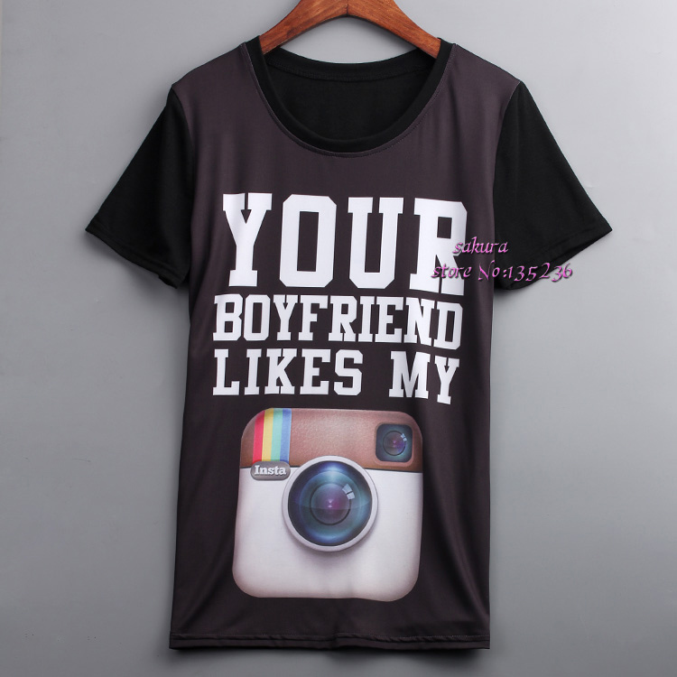 Online Get Cheap Your Boyfriends T Shirt -Aliexpress.com | Alibaba ...