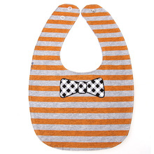 Cute Cartoon Themed Double-Sided Cotton Bib