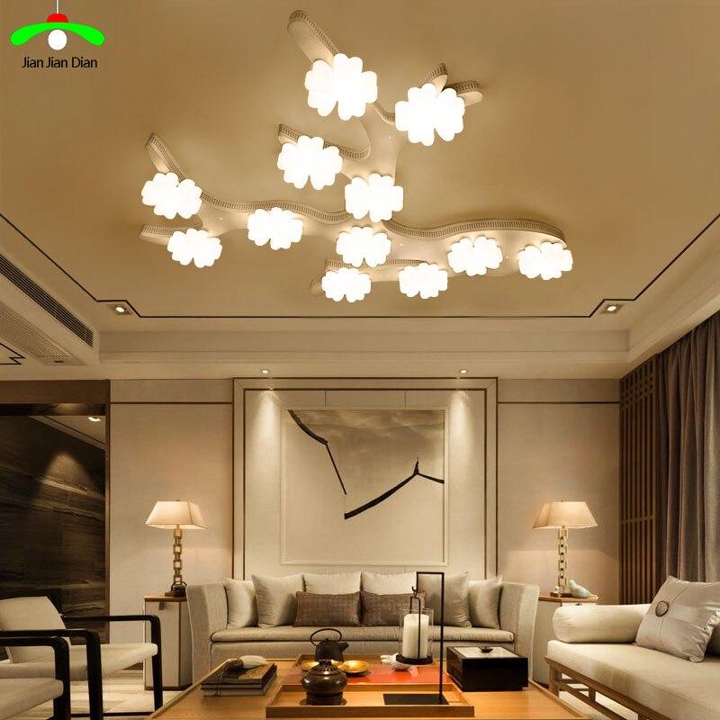 Bedroom lamp romantic led ceiling light modern brief zhuwo
