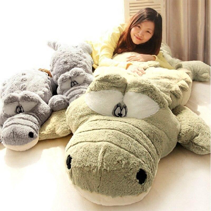 1 pieza de animales de peluche de felpa de juguete 60 cm/80 cm/100 cm de gran tamaño de simulación de muñeca cojín almohada juguetes para niñas regalo de los niños