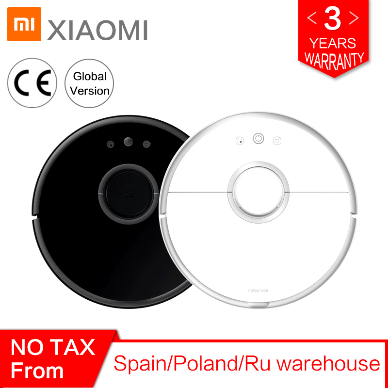 International Roborock Vacuum Cleaner 2 S50 S55 for Xiaomi Mi Home APP Sweeping Wet Mopping Robotic Dust Cleaner Smart Path Plan(China)