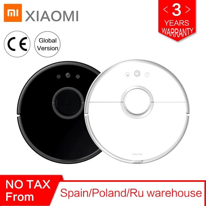 Roborock S50 S55 Robô Xiaomi mi 2 para Casa Varrendo Esfregar Molhado Aspirador de pó Tapete Coletor de pó Robótico Inteligente automático