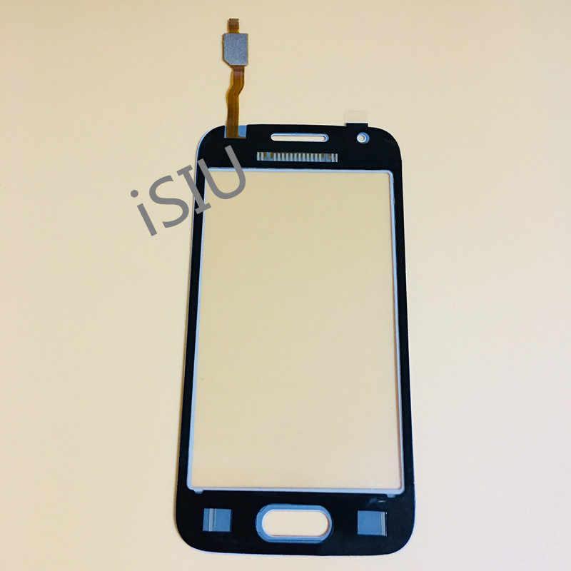 لمس الشاشة لسامسونج غالاكسي الآس 4 LTE G313 G313F SM-G313F G313H لمس لوحة محول الأرقام الاستشعار 4.0 ''شاشة الكريستال السائل الزجاج