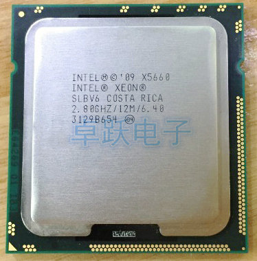 Bảng giá original Intel Xeon X5660 2.8 GHz Six Core 12M Processor LGA 1366 Server CPU desktop Phong Vũ