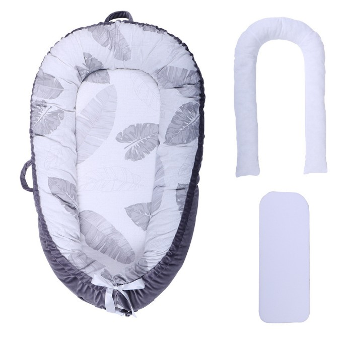 Portabel baby Bionic bed Baby SLEEP POD Multifunctional Travel Crib Cotton Newborn Mattress BabyNest Upgraded baby