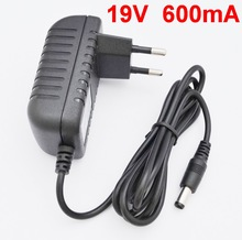 1pcs 19V 0.6A charger Adaptor Vacuum Cleaner Parts for ilife x5 v5 v5s v3 X800 a4s a4 V50 a6 T4 V5S pro Robot Vacuums 19V 600MA