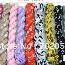 Детская Женская шарф саронги хиджабы банданы Wrap шаль пончо 160*50 см смешанных deisng и цвет 36 шт./лот#3360