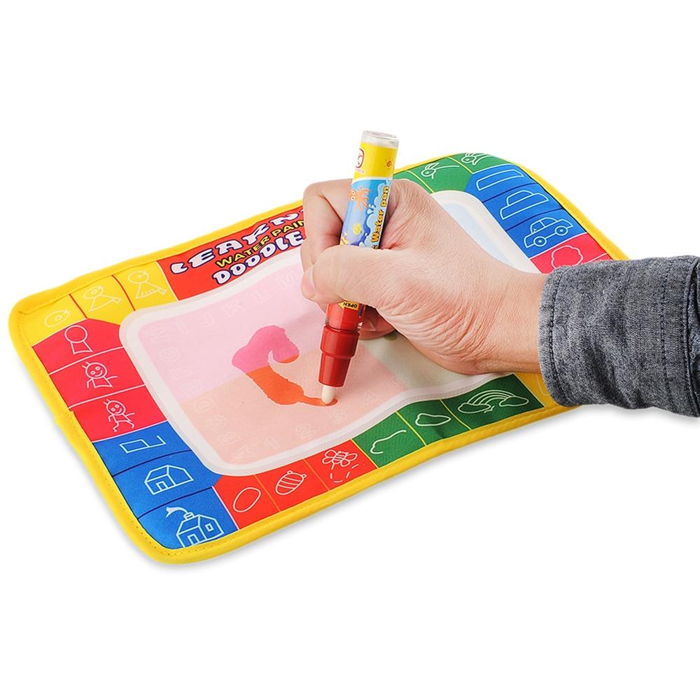 Ребенок добавить воды с Magic Pen Doodle картина Вода Рисование играть мат в рисунок игрушки Совет Дети Рождество Рождественские подарки игрушка