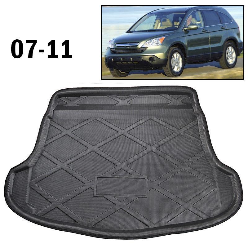 Car Cargo Boot Liner Rear Trunk Floor Tray Mat Carpet For Honda CR-V CRV 2007-2011 Car Accessary