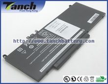 07V69Y  6MT4T G5M10 Laptop batteries for DELL Latitude E5570 E5550 E5470 E5450  7.4V 4cell 51Wh