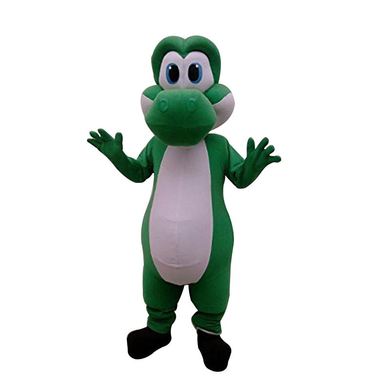 Cosplay costumes Adulte Mario Yoshi Mascotte Personnalisation De Super Mignon Livraison Gratuite
