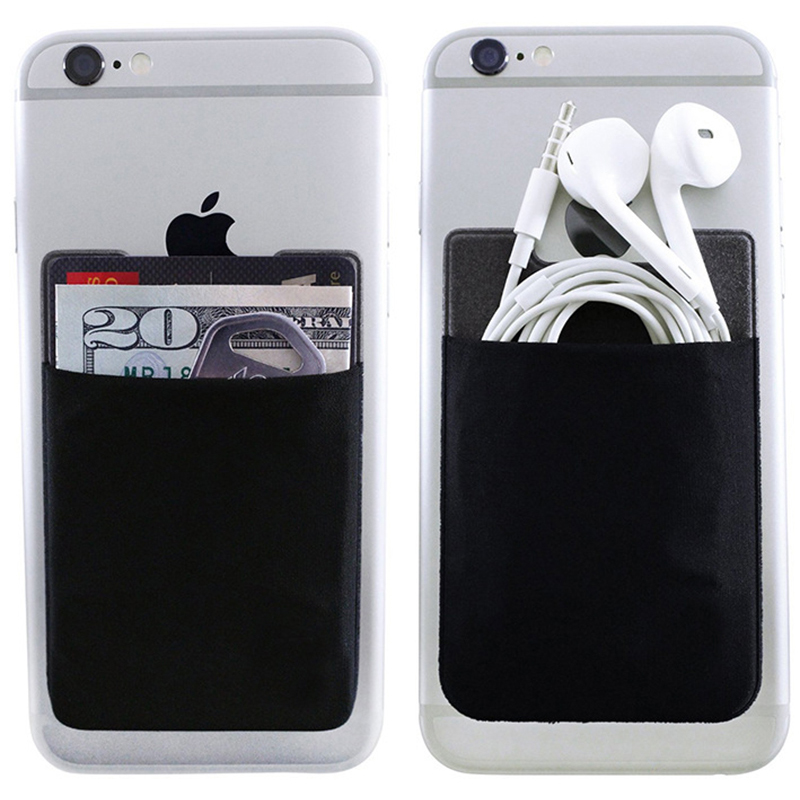 Card Holder Creative Credit Card Holder Stick On Phone 6S 6 ...