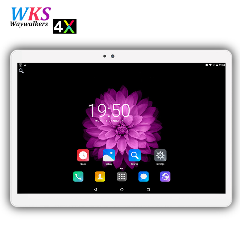 2018 Newest 10 inch 4G LTE Android 7.0 tablet pc 10 core 1920*1200 HD IPS 4GB RAM 64GB ROM wifi Bluetooth Smart tablets 10 10.1 2017 new android 7 0 original 10 core 10 1 inch 3g 4g lte tablet pc 1920 1200 ips hd 8 0mp 4gb ram 64gb rom bluetooth gps