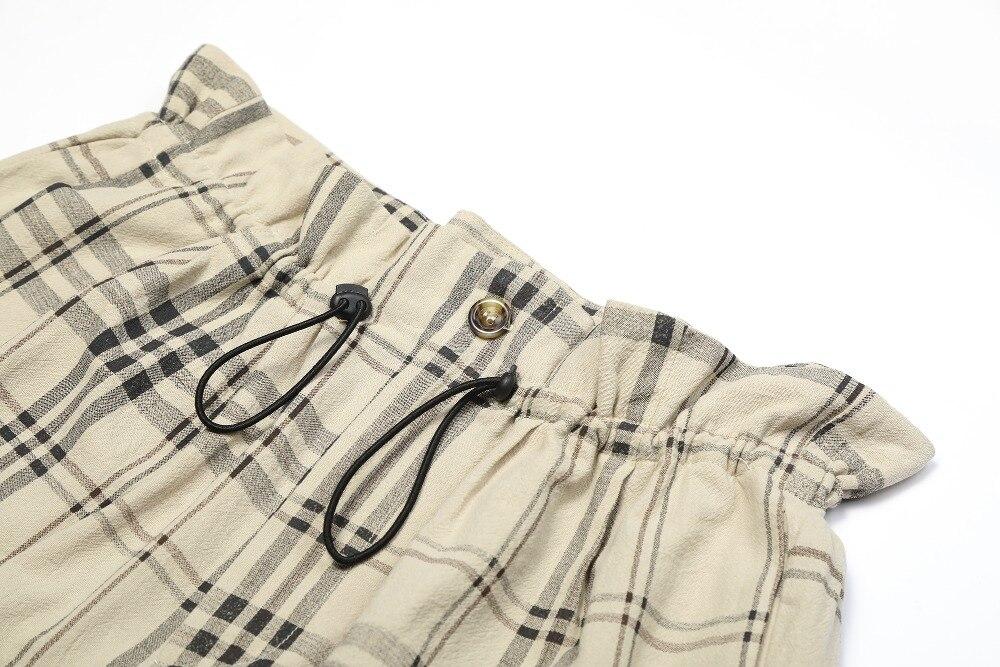 desconto femininas calças alta 7