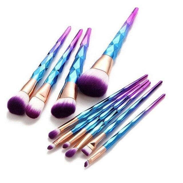 Fony 1 piezas pinceles de maquillaje cosmético cara Fundación corrector pinceles/brochas Fundación contorno rubor de pelo de Nylon hacer herramienta