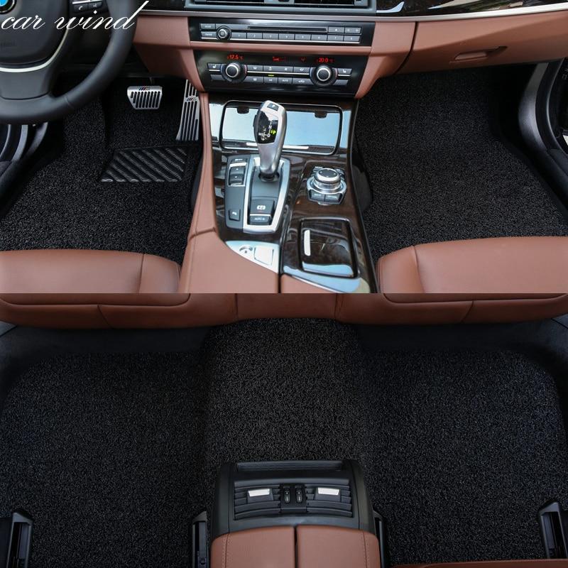 Car Wind Auto Car Floor Foot Mat For Bmw F10 F11 F15 F16
