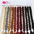 Kanekalong Braiding Hair 170g Unfold 82 Inch Crochet Hair Extension Crochet Braid Hair Cheveux Hair Extensions Synthetic