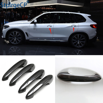 For BMW x5 G05 M50i xDrive40i xDrive30d xDrive 30i 40i 2019 2020 Accessories 100% real carbon fiber Auto outer door handle cover