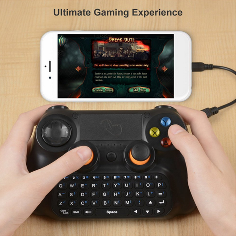 3 In1 Wireless Game Controller Gamepad + Keyboard + Touchpad For Smartphone/Tablet/ Smart TV/Windows PC XXM