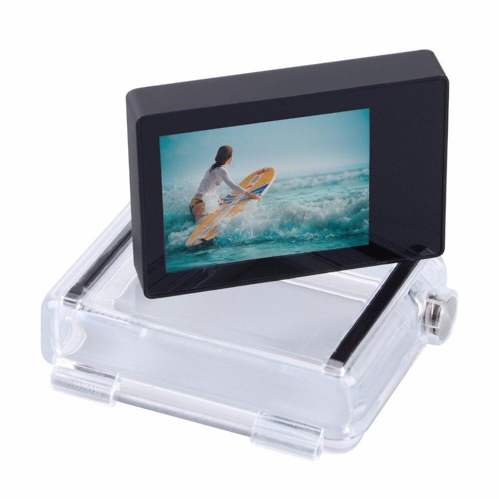 Para los accesorios de Gopro Go pro Hero 3 + héroe 4 LCD Bacpac pantalla externa para Gopro Hero3 + 4 cámara de acción deportiva - 2