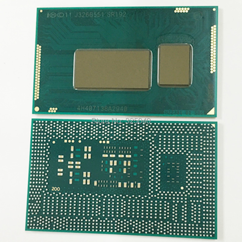 Free shipping 100% new original i5-4300Y SR192 BGA CPU good quality in stock free shipping n2840 sr1yj 100% new original bga cpu in stock well working can be directly order