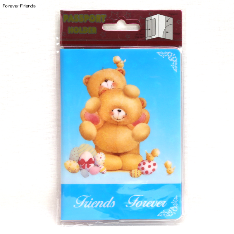 Coin Purses & Holders Luggage & Bags Rilakkuma Easy Bear Creative Cartoon Pvc Passport Sets Of Hong Kong And Macao Passport Manufacturers To Promote