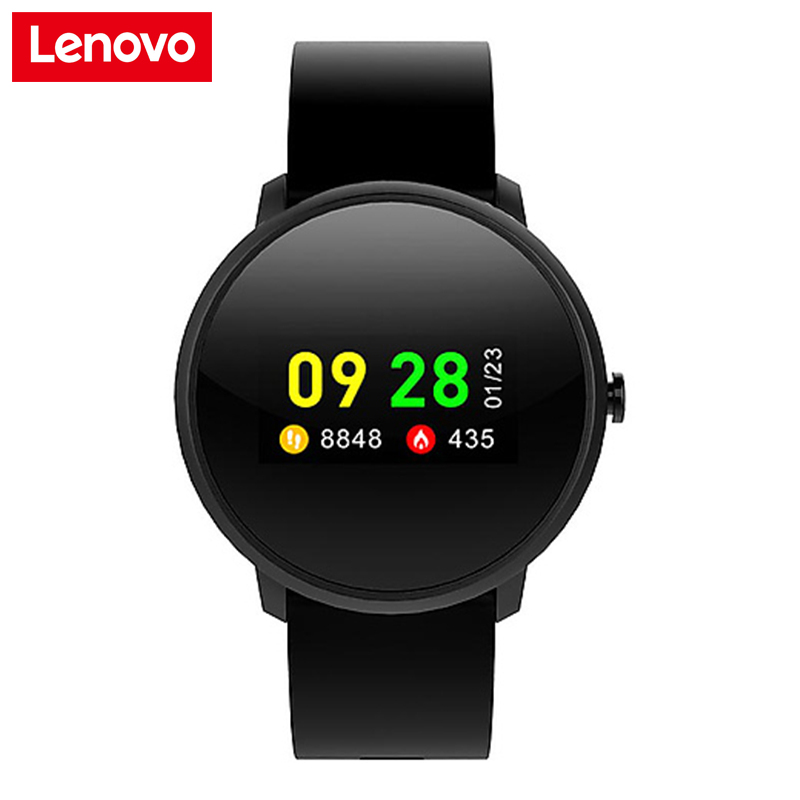 New Lenovo Smart Watch HW10 Sports Watch Bracelet IP68 Waterproof 0 96 Inch LCD Color Screen