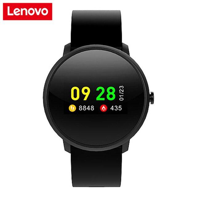 חדש Lenovo חכם שעון HW10 ספורט שעון צמיד IP68 עמיד למים 0.96 inch LCD צבע מסך לב קצב גלאי גשש כושר