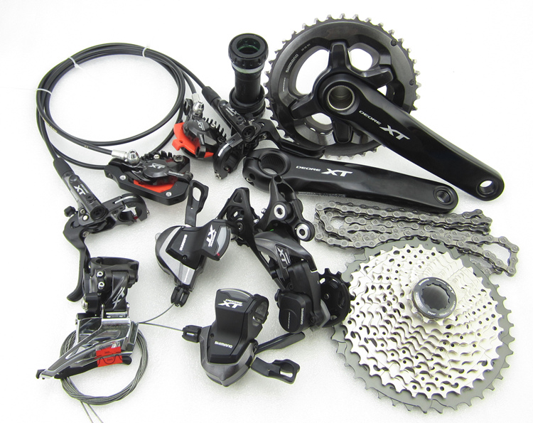 SHIMANO DEORE XT M8000 2x11 22S Speed 38/28T 36/26T 170mm 11-42T MTB Mountain Bike Groupset