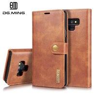 Элитный бренд из натуральной кожи съемный чехол для samsung Galaxy 2018 A9 A7 A6 A8 плюс S7 9 чехол магнитной бумажник телефон сумка