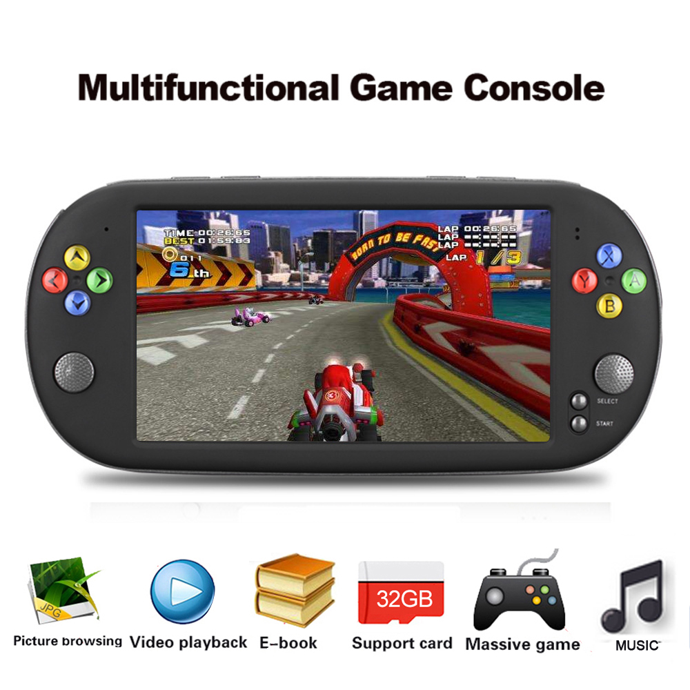 X16 Portable Handheld Video Game Console w Double Rocker For GBA NES Games Player Support TF