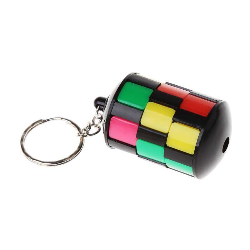2018 Smart tour blocs pendentifs Puzzle jouet éducatif Cube magique porte-clés JUL23_17