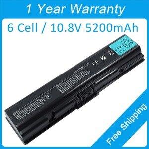 5200mah laptop battery for Toshiba Satellite L450 L455 L500 L505 L550 L555 M200 M202 M203 PA3534U PA3682U-1BRS PA3533U1BAS