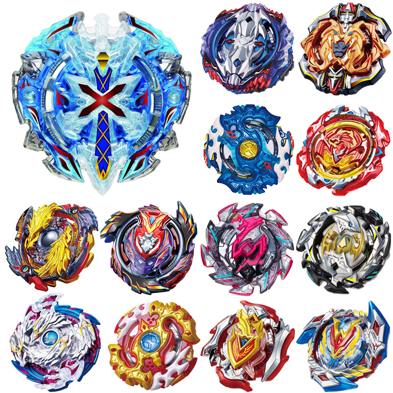 luminous beyblade burst beyblade toys glowing in the dark metal spinning top bayblade gyro launcher kids toys for children sales Toupie Beyblade BURST Bayblade Metal Fusion 4D Spinning Top Bayblade Fighting Gyro No Launcher Blade Blades Toys For Children #A