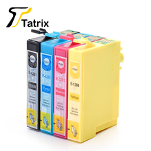 T1281 T1282 T1283 T1284 BK/C/M/Y Full Ink Cartridge For Epson Stylus S22/SX125/SX130/SX230/SX235W/SX420W/Office BX305F/305FW