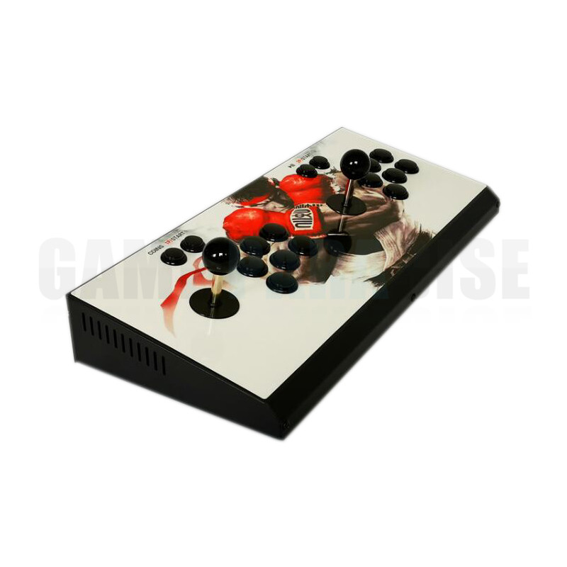 2PCS Pandora's Box 9 Arcade Game Console 1500 in 1 Retro Games Metal Double Stick Console 1