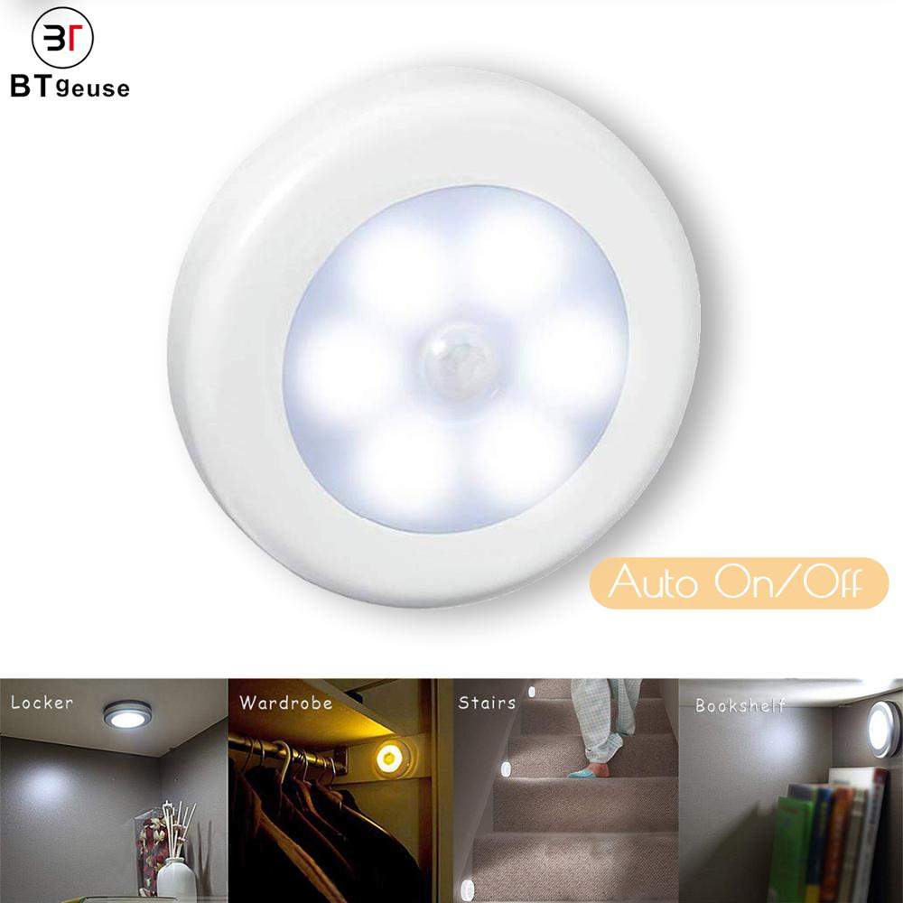 BTgeuse Motion Sensor Light Cordless Battery-Powered Smart Sensor LED Night Light Auto ON/Off Stick for Cabinet Closet StairsBTgeuse Motion Sensor Light Cordless Battery-Powered Smart Sensor LED Night Light Auto ON/Off Stick for Cabinet Closet Stairs