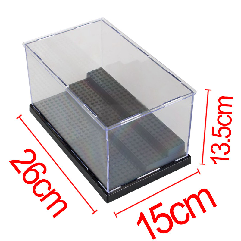Acrylic Box Construction : Buy wholesale acrylic doll display cases from china