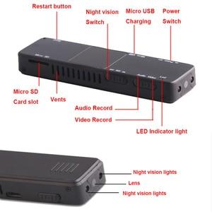 Image 5 - Camera Mini Pen Cam 1080P Infrared Light Night Vision Camcorder Recording DVR DV Audio Video Record Micro 800mah Small