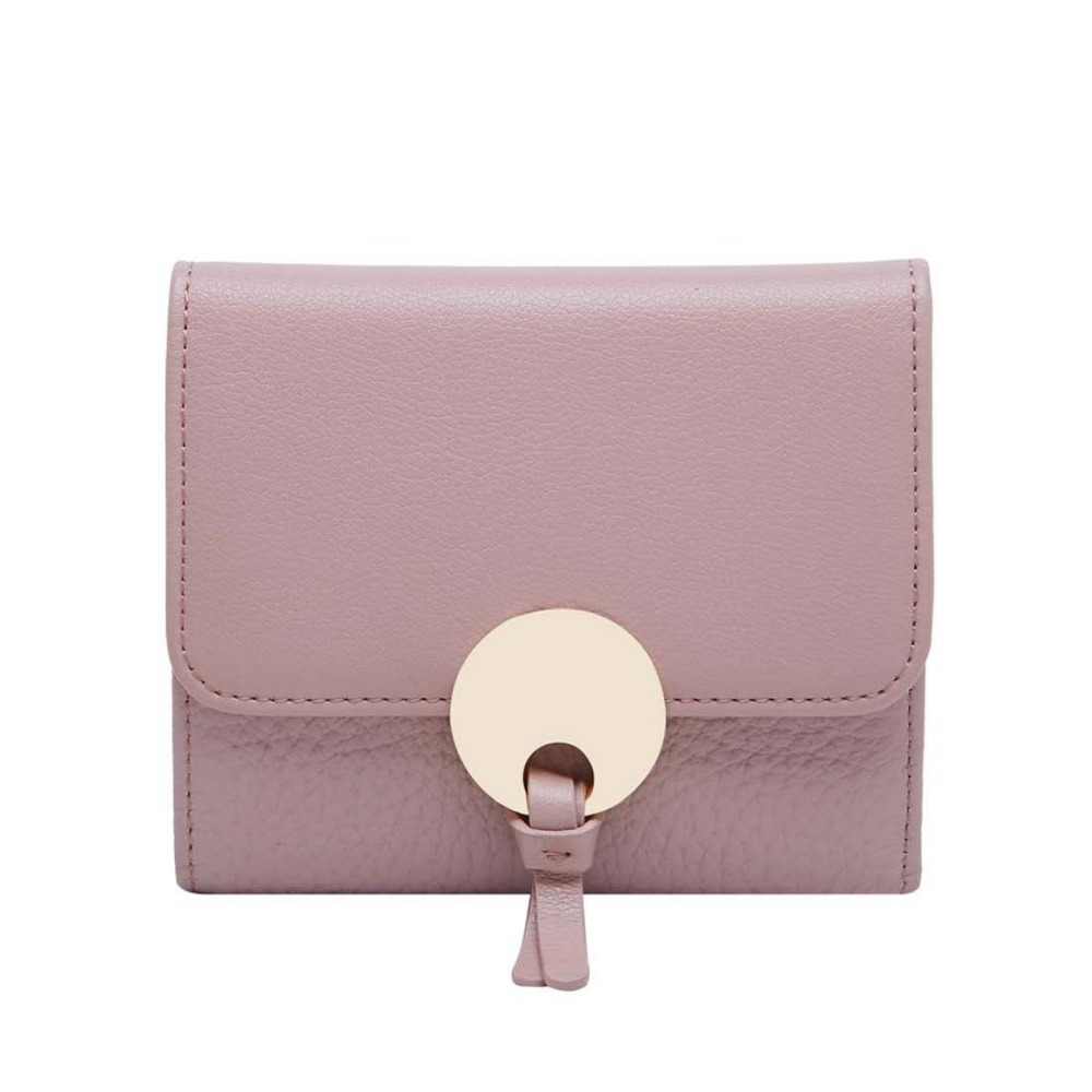ФОТО Boyatu Genuine Leather Fashional Cute Wallet Young Girls Travel lovely Durable Best Gift Practical Multifunctional Card Cover