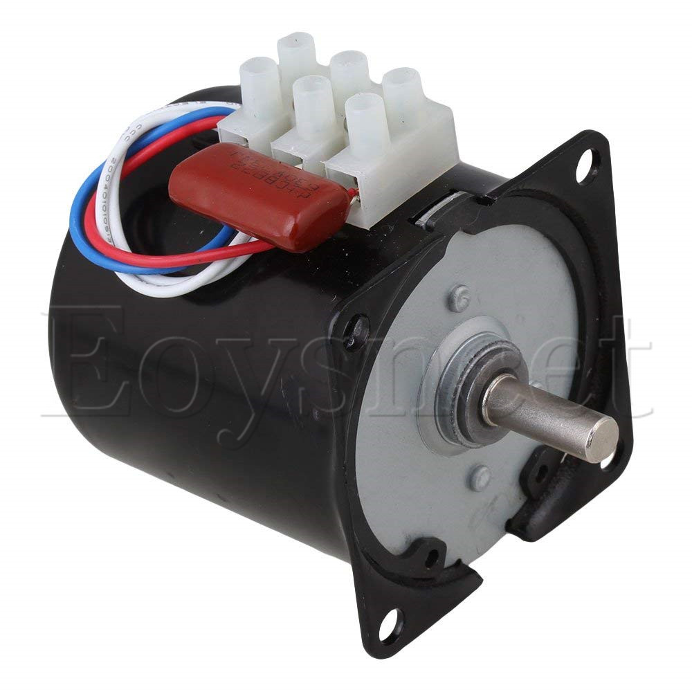 цена на Generic High Torque AC 220V 15RPM Gear-Box Electric Synchronous Gear Motor